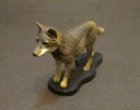 Steppe wolf Hand Painted Resin Figurine Statue 1:6 simulation model  A002