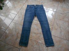 H7973 Lee Magee Jeans W29 L36 Dunkelblau Unifarben Gut