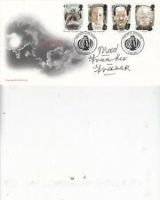 MAD FRANKIE FRASER HAND SIGNED TALES OF TERROR FIRST DAY COVER WHITBY P/M (3)