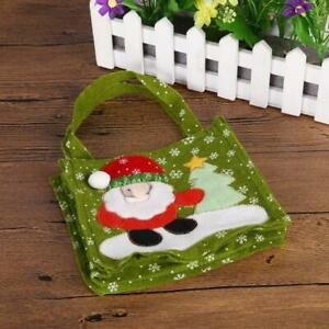 Christmas Decoration Supplies Candy Gift  Storage Bag Snowman Home Orgnazation