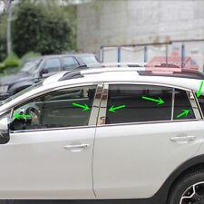 Stainless Steel Window Pillar Posts Trim For Subaru XV Crosstrek 2013 14 15 2016