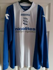 Birmingham City Blues Diadora Home Shirt 2013 / 14 Blues Size Medium KRO
