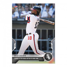 2021 Topps NOW Brian Goodwin #600 ~ Chicago White Sox ~ PR 456