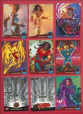 1994 Fleer Ultra Marvel X-Men Complete Your Set U pick 8 cards NM to Mint