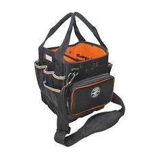Klein Tools Tool Tote Organizer Shoulder Strap Bag Storage 40 Pockets Pouch New