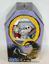 Nightmare Before Christmas Lock Shock Barrel Ceramic Figure Vintage Sega Disney