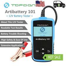 Car Battery Tester Digital Analyzer Cranking Charging Test 12 Volt CCA100~2000