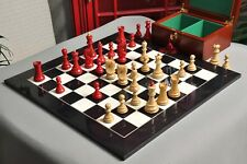 The Zagreb '59 Chess Set, Box and Board Combination - Red Stained