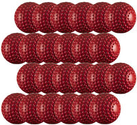 Pack of 24 Gunn and Moore Cricket Bowling Machine Balls Red