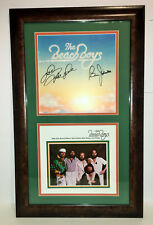 Beach Boys Mike Love Bruce Johnston SIGNED AUTOGRAPHED FRAMED 1977 Tour & Album