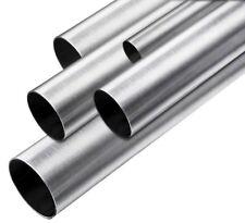 Edelstahl Rundrohr V2A /Ø 60,3x2mm K240 L/änge 1300mm 130cm auf Zuschnitt