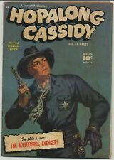 Hopalong Cassidy 41 Painted Cover Golden Age Western