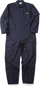 Flight Suit Coveralls Military Air Force Style Uniform Fighter Jumpsuit + Patch