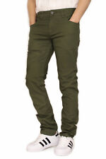 MEN'S TWILL STRETCH SKINNY JEANS VICTORIOUS 17 COLORS WAIST 28~42