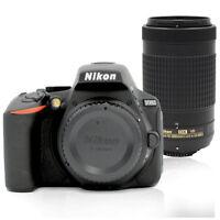 Nikon D5600 24MP DSLR Camera with AF-P DX Nikkor 70-300mm f/4.5-6.3G ED VR Lens