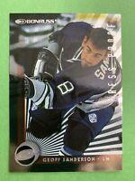 1997-98 Donruss Press Proof #79 Geoff Sanderson Hartford Whalers 1 Of 2000