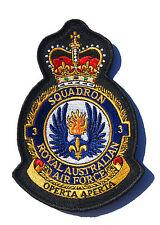 RAAF 3 Squadron Uniform Patch Crest