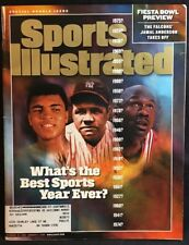Sports Illustrated Magazine Dec 98-Jan 99 Best Sports Year Ever? Ali Ruth Cover