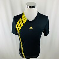 Adidas CLIMA365 F50 Mens Small S Black Soccer Jersey 100% Polyester