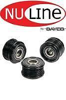 S40 V40 Overrun alt pulley suits Volvo Denso120A 2/97-9/00 1.9L B4204S OAP069