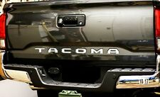 2016-2017 Toyota Tacoma Mirror Chrome Tailgate Letters Inserts Inserts 3D