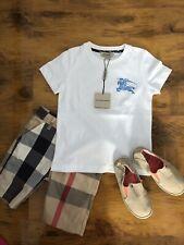 Orig. Burberry Kinder T Shirt Polo Shirt Hemd Bluse Sweatshirt Gr 4 Jahre 104 cm