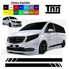 Side Stickers Stripes for Mercedes VITO Vito Racing Vinyl Graphics Decals Merc