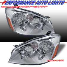 Set of Pair OE Style Headlights (Halogen Ver.) for 2005-2006 Nissan Altima