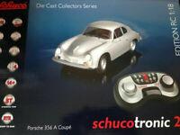 Porsche 356 A Coupe silber Schuco Schucotronic RC R/C RTR neu OVP 450030200 1:18