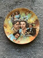 """The Golden Age Of Cinema """"Judy and Mickey"""" Collector Plate Free Shipping"""