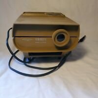 Vintage Sawyer's Viewmaster 30 Standard Projector Turns On PARTS OR REPAIR