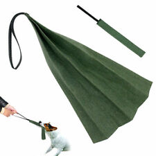 Jute Puppy Dog Bite Rag with Handle Training Tug for Young SCHUTZHUND POLICE K9