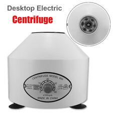 220V Centrifugeuse Centrifuge Électrique Laboratoire Machine Médical 4000Rpm EU