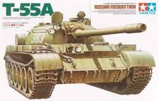 Tamiya 1:35 Soviet Tank T-55 Plastic Model Kit 35257 TAM35257