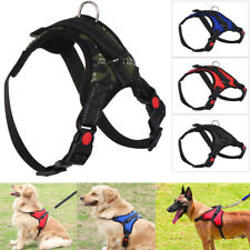Nylon Heavy Duty Dog Pet Harness Collar Adjustable Padded Dog Harnesses Vest