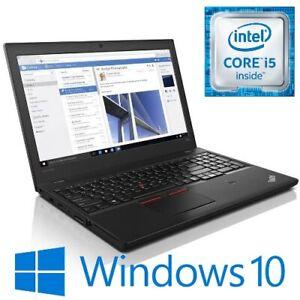 "Lenovo ThinkPad T560 Intel i5 6300U 8G 500G WiFi 15.6"" LED HDMI Win 10 Pro"