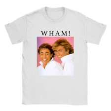 WHAM Mens T-Shirt George Michael Fan Top Gift Present