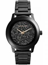 Michael Kors Kinley Pave Crystal Midsize Black MK5999 Watch