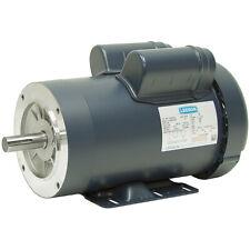 3 HP  3600 RPM  230 VOLT AC  1 PHASE  145TC  LEESON 121060.00 MOTOR  10-2885