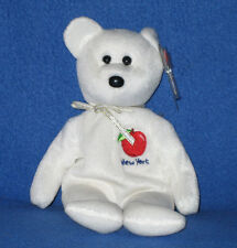 TY I LOVE NEW YORK STATE  the BEAR  BEANIE BABY -  MINT with MINT TAG