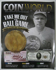COIN WORLD Magazine May 2014 - Babe Ruth - Take Me Out To The Ball Game - New
