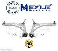 BMW E46 FRONT LOWER WISHBONE CONTROL ARM SET WITH BUSHES BALL JOINTS MEYLE HD