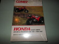 New Service Manual Book Honda ATC250 & FOURTRAX 200-250 Shaft Drive 84-87