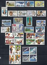 US Airmail/Airpost 1980-1991 MNH Collection Lot Set of 33 Stamps*