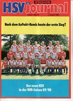 BL 89/90 Hamburger SV - Eintracht Frankfurt