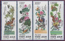 VIETNAM N°1798/1801** Tableaux, 4 Saisons, 1999 Vietnam 2865-2868 Paintings MNH