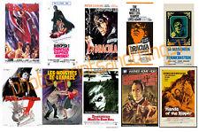 HAMMER  (Horror) -  FILM POSTER POSTCARD SET # 10