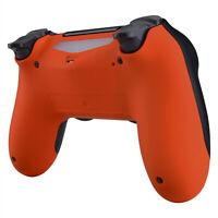 Custom Orange Back Housing Shell Case Repair Part for PS4 Slim Pro Controller