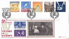BLCS103a BENHAM FIRST DAY COVER FDC 1995 VICTORY IN EUROPE STAMP SET COVENTRY