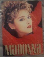 Madonna Virgin Tour Concert Program Book very good condition